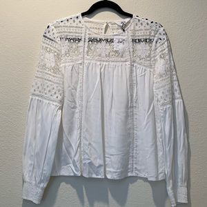 NWT Jack by BB Dakota off white  blouse